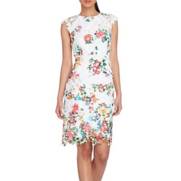 13524c1b Tahari Arthur S. Levine Lace Sheath Dress 10. M_5b830f54c89e1da7da8944a9